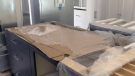 A kitchen under renovation is seen in Kitchener on Friday, June 22, 2018.