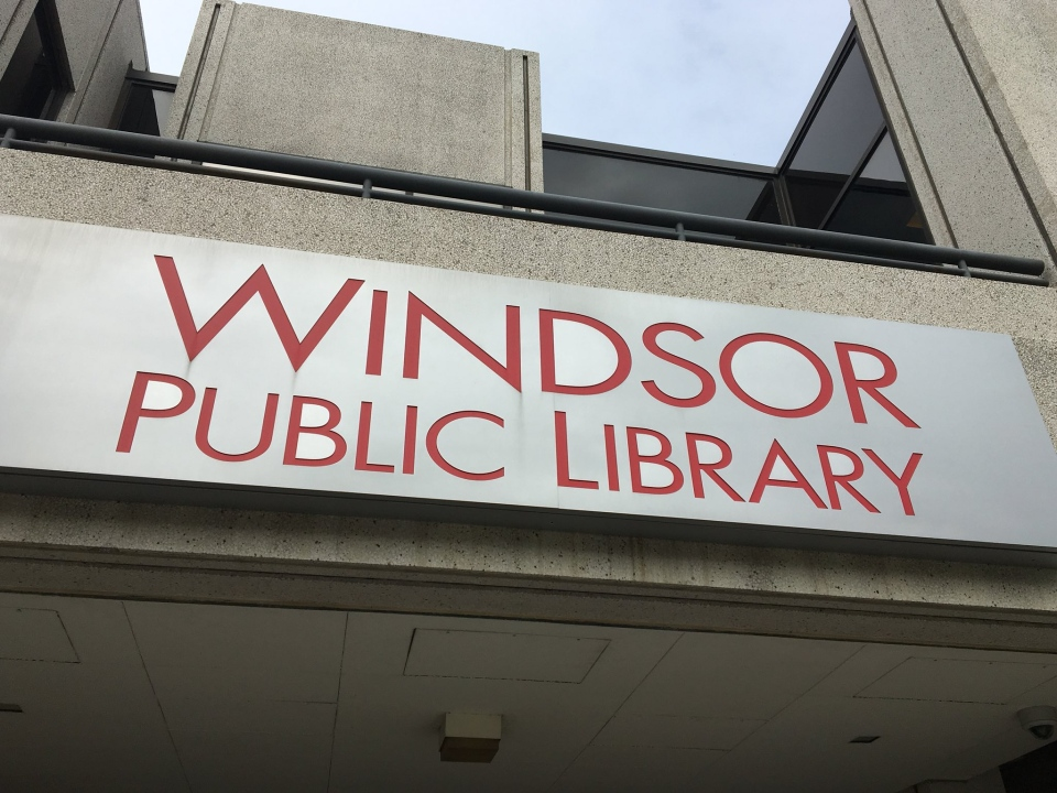 The central site for the Windsor Public Library ( Ricardo Veneza / CTV Windsor )