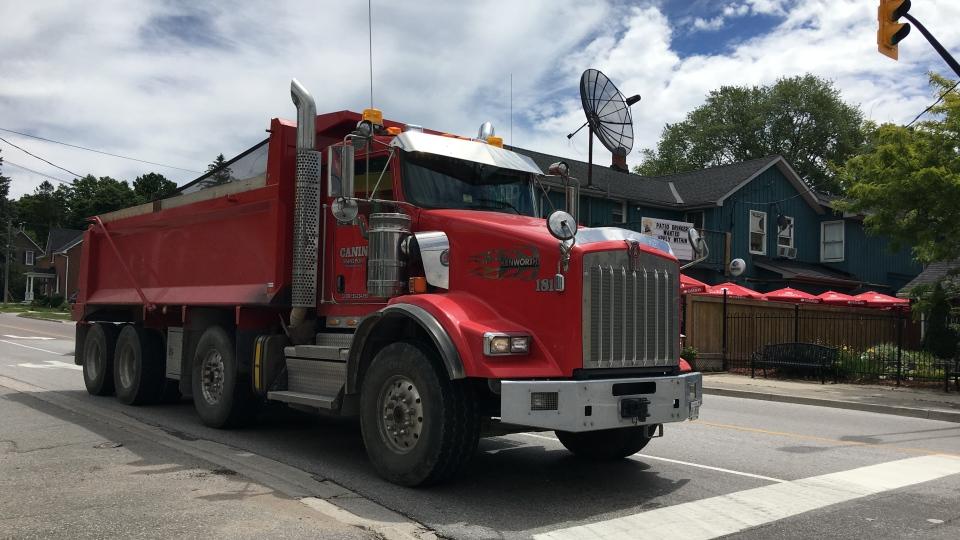Innisfil Wants To Ban Dump Trucks From Town Streets Ctv