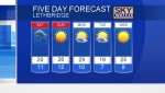 CTV Lethbridge Weather at 5 for June 22/18