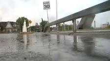 Massive storm hits the City of Calgary