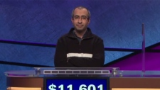 Ali Hasan appears on an episode of 'Jeopardy!' that aired Friday, June 22, 2018.