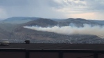Blaze threatens Kamloops as fire season starts