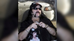 In this May 20, 2004 file photo shows Vinnie Paul Abbott in Amarillo, Texas. Paul, co-founder and drummer of metal band Pantera, has died at 54. (AP Photo/Ralph Duke, File)