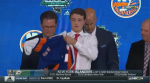 Summerside, P.E.I. defenceman Noah Dobson was selected 12th overall in the 2018 NHL Entry Draft by the New York Islanders.