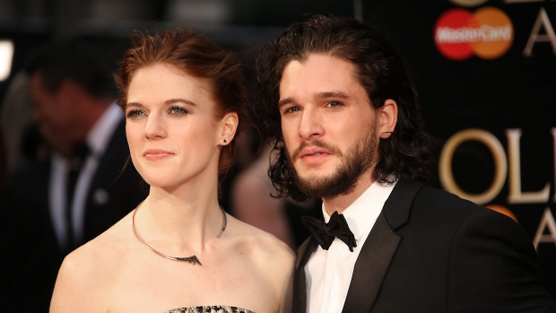 Game Of Thrones stars arrive at church for Harington and Leslie wedding