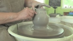 Rosemary Arthurs with Dundee Pottery hosts weekly classes teaching students how to create one-of-a-kind pieces.