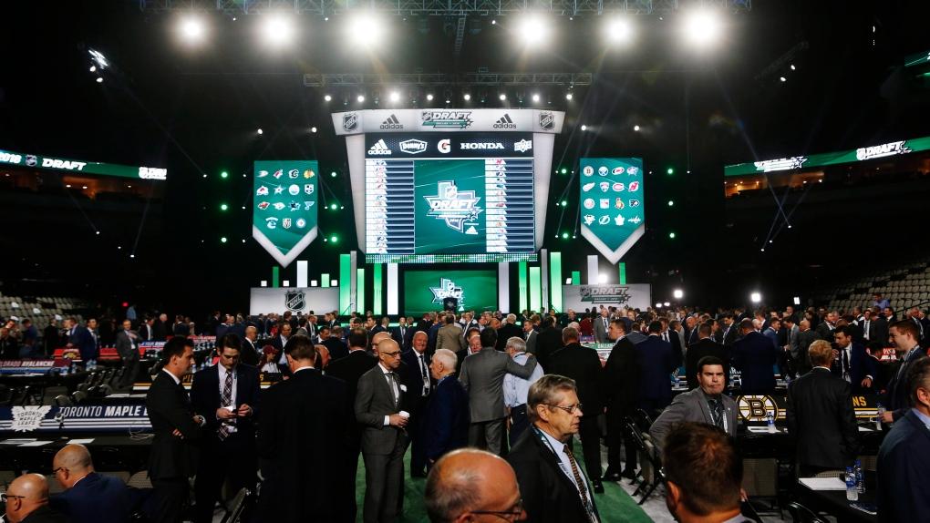 NHL Draft in Dallas