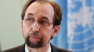 """In this Wednesday, Feb. 7, 2018 file photo, U.N. human rights chief Zeid Ra'ad al-Hussein pauses during a press conference in Jakarta, Indonesia. The U.N. human rights chief said Tuesday, March 6 he was standing by """"every single word"""" of his criticism against Hungarian Prime Minister Viktor Orban, after calling him a racist and xenophobe last month. In a statement released through his office in Geneva, al-Hussein, the United Nations High Commissioner for Human Rights, also rejected a demand by Orban's foreign minister for his resignation, and called the Hungarian leader a bully. (AP Photo/Dita Alangkara, file)"""