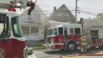 Fire crews were called to a housefire on Blowers St. in Sydney at around 1:30 p.m. Saturday.