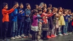 Members of the Nai Children's Choir perform in a handout photo. (THE CANADIAN PRESS/Irene Barton)