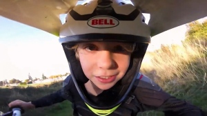 BMX racer and Abbotsford resident Rex Johnson won an award for a GoPro video of himself racing.