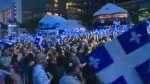 On the eve of Saint-Jean-Baptiste, thousands of Montrealers attended a lively party at Place des Festivals - one of more than 50 events planned for the weekend in the Montreal area. (CTV Montreal)