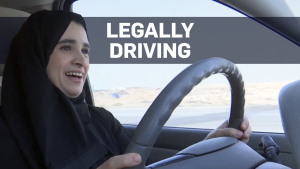 For the first time in the country's history, women in Saudi Arabia are legally driving their own vehicles.
