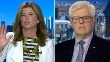 Former Interim Conservative Leader Rona Ambrose and former Finance Minister John Manley on CTV's Question Period on Sunday June 24, 2018. (CTV News)