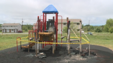 While RCMP search for the person, or people, responsible for the vandalism, members of the community are frustrated and upset with the loss of the playground equipment.