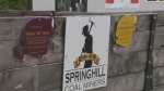 The Springhill Miners Museum is installing memorial plaques on coal carts as a way to honour the men who worked underground at the mines.