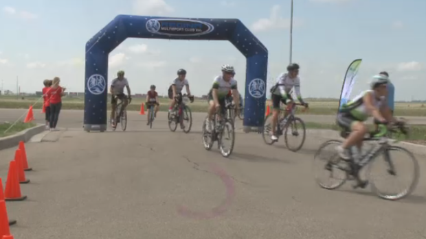 The 2018 Ride Don't Hide event raised over $75,000 for the Mental Health Association's Regina Branch.
