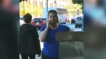 Woman threatens to call police on child