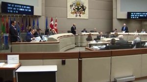 Calgary city council will meet behind closed doors Monday to discuss a potential 2026 Winter Olympic bid