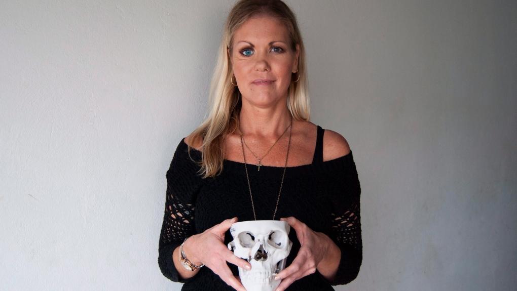 Vanessa Carter, an MRSA survivor