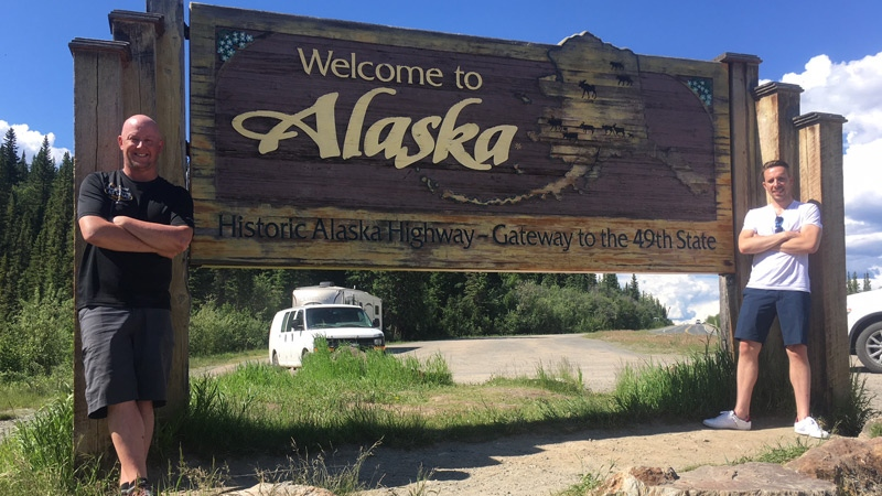 Alaska border