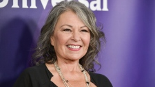 In this April 8, 2014 file photo, Roseanne Barr arrives at the NBC Universal Summer Press Day in Pasadena, Calif. (Photo by Richard Shotwell/Invision/AP, File)