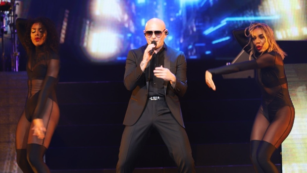 Pitbull at Caesars Windsor on Saturday, June 23, 2018. (Melanie Borrelli / CTV Windsor)