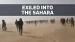 Exiled into Sahara with no food or water