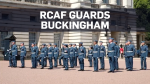 Royal Canadian Air Force on duty in London, U.K.