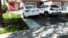 A driveway in Guelph, Ont. is pictured on Monday, June 25, 2018.