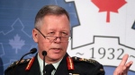 Chief of Defence Staff Gen. Jonathan Vance delivers a keynote presentation at the CDA Conference on Security and Defence in Ottawa on Friday, February 23, 2018. THE CANADIAN PRESS/Fred Chartrand