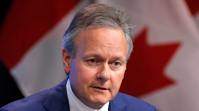 Bank of Canada Governor Stephen Poloz speaks at a press conference after releasing the June issue of the Financial System Review in Ottawa on Thursday, June 7, 2018. (THE CANADIAN PRESS / Patrick Doyle)