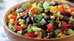 Lentil & Black Bean Salad