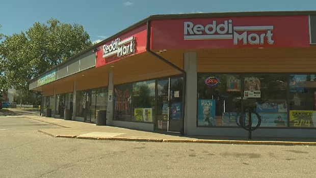 Police were called to the Spruce Grove Reddi Mart after 1 p.m. Monday, June 25, 2018.