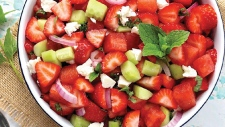 Strawberry & Watermelon Salad