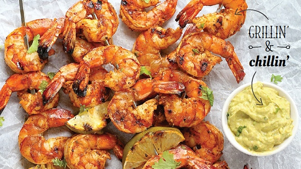 Spicy Chili-Lime Grilled Shrimp