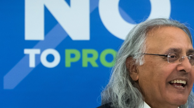 Former British Columbia premier Ujjal Dosanjh