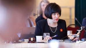 Federal Health Minister Ginette Petitpas Taylor is shown during the Conferences of Federal - Provincial-Territorial Ministers of Health in Winnipeg, Friday, June 29, 2018. THE CANADIAN PRESS/John Woods