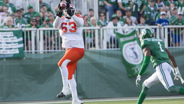 BC Lions offensive lineman Jovan Olafioye has made a public appeal for help looking for a place to live in Metro Vancouver's competitive housing market.