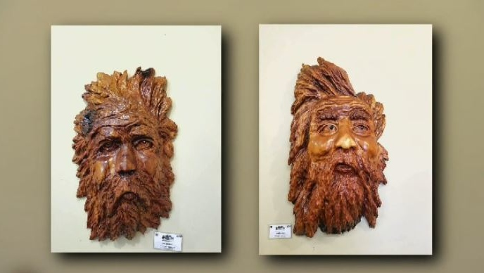A Chemainus artist is still tallying up his losses after someone broke into his studio early Wednesday morning and made off with various carvings. (Submitted)