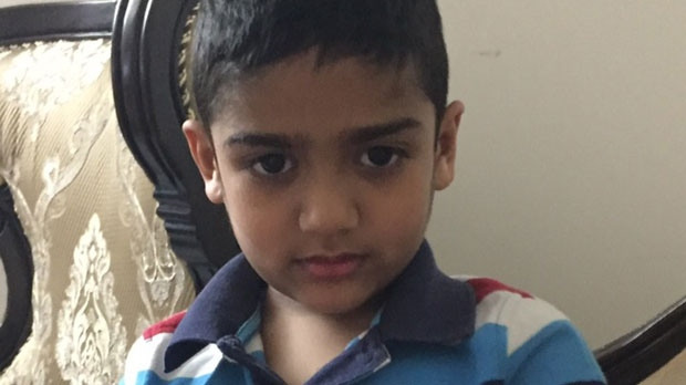 Raheel Uddin's parents say that the young boy had Autism and suffered from seizures on a regular basis. (Supplied)