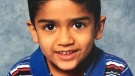 The young boy who drowned in a retention pond on Friday afternoon has been identified as Raheel Uddin. (Supplied)