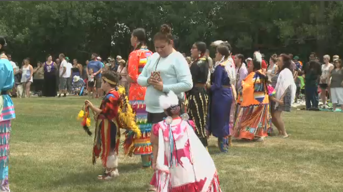 The Tresspasser's Powwow took place in Wascana Park on Saturday, June 30, 2018.