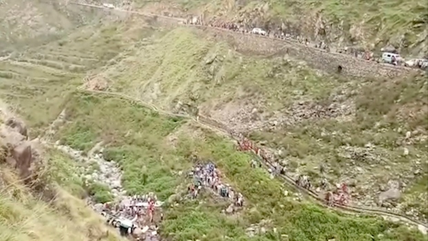 At least 40 killed in bus accident in northern India