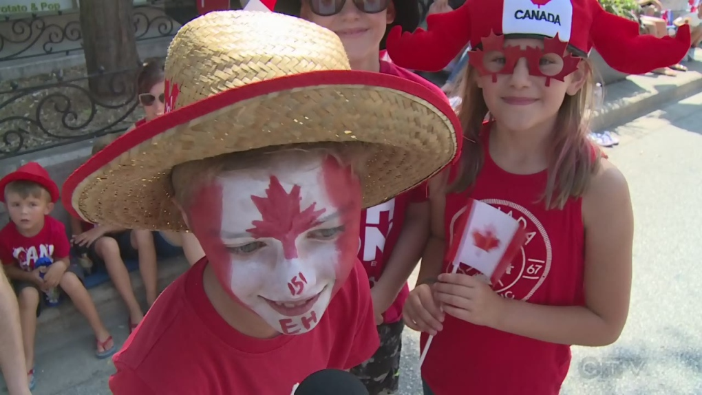 Canada Day in Windsor