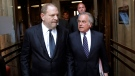 Harvey Weinstein, left, and his attorney Benjamin Brafman leave court in New York, Tuesday, June 5, 2018. (AP Photo/Seth Wenig)
