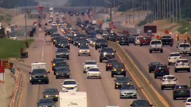 Traffic hwy 400