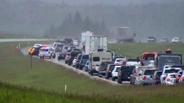 Alberta man killed in crash on Highway one west of Calgary