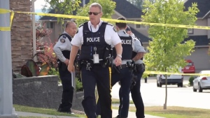 Surrey RCMP officers are seen in this CTV News file image.